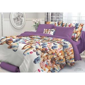 где купить  Комплект постельного белья Verossa Constante 1,5 сп, перкаль, Indigo с наволочками 50x70 (706993)  по лучшей цене