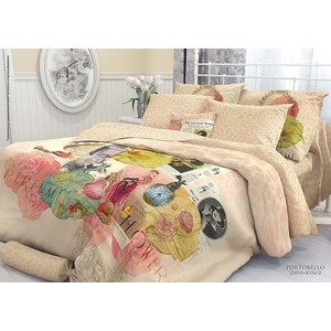 цена на Комплект постельного белья Verossa Constante 1,5 сп, перкаль, Portobello с наволочками 70x70 (706982)