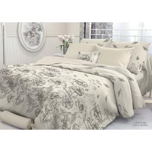 где купить  Комплект постельного белья Verossa Constante 1,5 сп, перкаль, Gravure с наволочками 70x70 (706988)  по лучшей цене