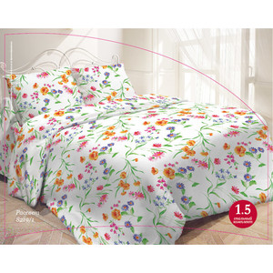 Комплект постельного белья Гармония 2-х сп, поплин, Рассвет с наволочками 50x70 (704144)