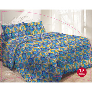 Комплект постельного белья Гармония 2-х сп, поплин, Медина с наволочками 50x70 (704168)