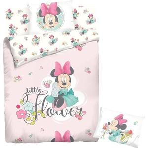 Комплект постельного белья Minnie 1,5 сп, ранфорс, Минни Маус с наволочками 70x70 (707497)