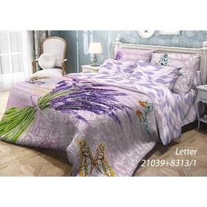 Комплект постельного белья Волшебная ночь 1,5 сп, ранфорс, Letter с наволочками 70x70 (703885)