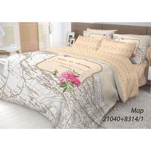 Комплект постельного белья Волшебная ночь 1,5 сп, ранфорс, Map с наволочками 70x70 (703877)