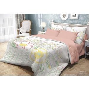 все цены на  Комплект постельного белья Волшебная ночь 2-х сп, ранфорс, Herbarium с наволочками 70x70 (704084)  в интернете