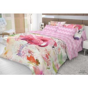 Комплект постельного белья Волшебная ночь 1,5 сп, ранфорс, Flamingo с наволочками 70x70 (704298)