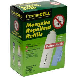 ThermaCell MR 400-12 Набор запасной (4 газовых картриджа + 12 таблеток)