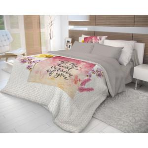 Комплект постельного белья Волшебная ночь 1,5 сп, ранфорс, Postcard с наволочками 70x70 (706769)