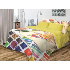 Комплект постельного белья Волшебная ночь Евро, ранфорс, Paint с наволочками 50x70 (706803)