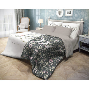 Комплект постельного белья Волшебная ночь 1,5 сп, ранфорс, Amour с наволочками 50x70 (706777)