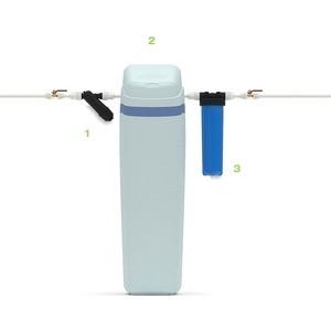 Гейзер Установка умягчения и обезжелезивания воды с кабинетом AquaChief 1035 RX Экотар В