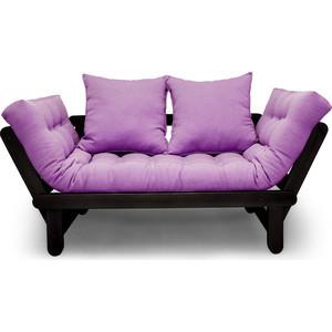 Кушетка Anderson Сламбер венге-фиолетовая рогожка кресла и кушетки