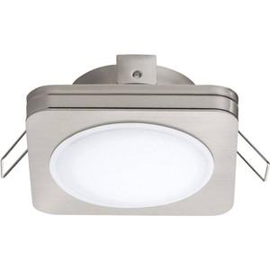 Встраиваемый светодиодный светильник Eglo 95921 eglo светодиодный накладной светильник eglo 94078