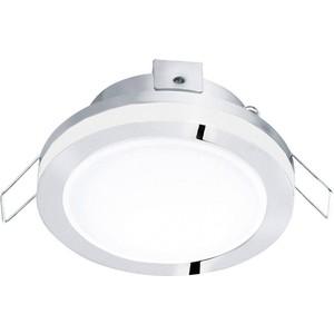Встраиваемый светодиодный светильник Eglo 95962 eglo светодиодный накладной светильник eglo 94078