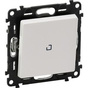 Выключатель одноклавишный Legrand Valena Life 10A 250V с подсветкой белый 752410