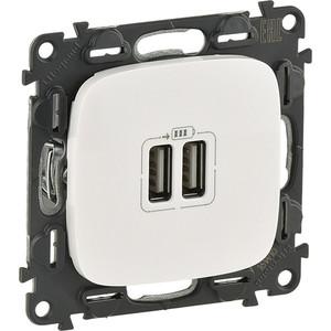 Розетка USB двойная Legrand Valena Allure 240V/5V 1500mA белая 754995