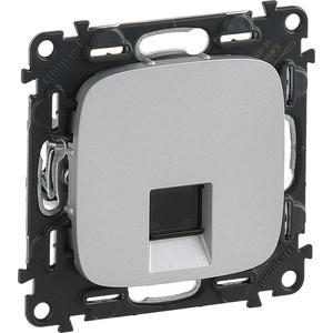 Розетка Ethernet RJ-45 Legrand Valena Allure алюминий 753940