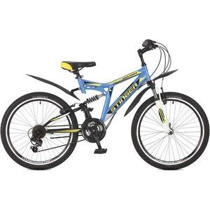Велосипед Stinger Highlander 100V 165 117391 stinger highlander 100v 16 5 2017 blue