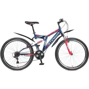 Велосипед Stinger Highlander 150V 16 108601