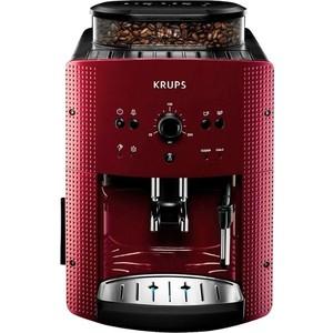 Кофе-машина Krups EA810770 красный/черный