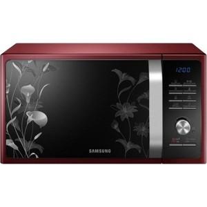 Микроволновая печь Samsung MG23F301TFR красный