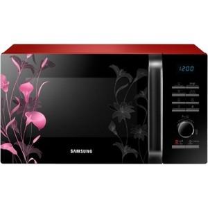 Микроволновая печь Samsung MG23H3115FR черный/красный
