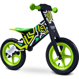 Беговел TOYZ Zap black-green - черно-зеленый