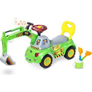 Каталка TOYZ Scoop green - зеленый