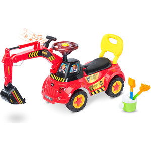 Каталка TOYZ Scoop red - красный