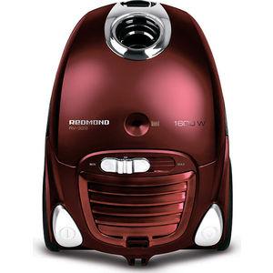 Пылесос Redmond RV-329 красный/серый