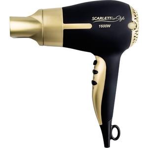 Фен Scarlett SC-HD70I30 черный/золотистый