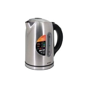 Чайник электрический Mystery MEK-1640 серебристый