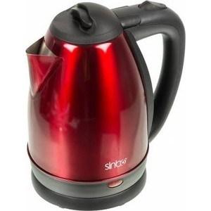 Чайник электрический Sinbo SK 7337 красный/черный чайник sinbo sk 7337 1800 1 8 л металл красный