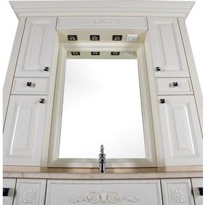 Зеркало-шкаф Aquanet Кастильо 160 слоновая кость (183180) шкаф пенал aquanet паллада 50 слоновая кость 175318