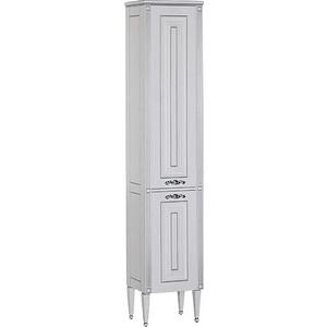Шкаф-пенал Aquanet Паола белый (181770) комплект мебели aquanet паола 182133