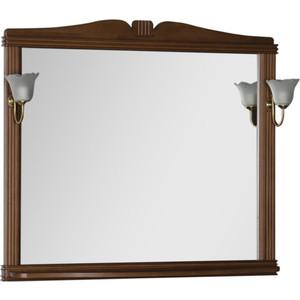 Фото - Зеркало Aquanet Николь 110 орех, массив бука (180521) зеркало aquanet николь 180512
