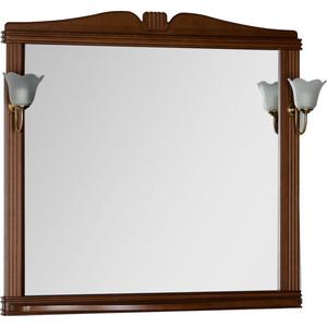 Фото - Зеркало Aquanet Николь 100 орех, массив бука (180520) зеркало aquanet николь 180512
