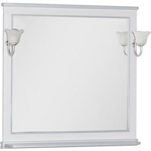 Зеркало Aquanet Валенса 100 белый краколет/серебро (180145)