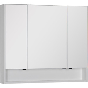 Зеркало-шкаф Aquanet Виго 100 белый (183399) модульный угловой шкаф виго