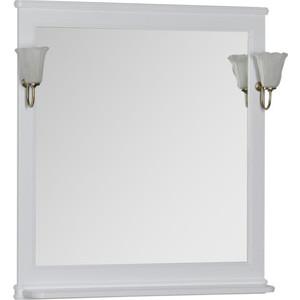 Зеркало Aquanet Валенса 90 белое (180046)