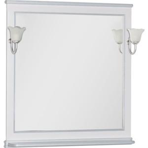 Зеркало Aquanet Валенса 90 белый краколет/серебро (180040)