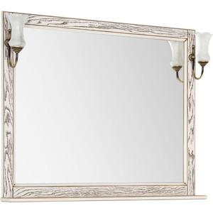 Зеркало Aquanet Тесса 105 жасмин, сандал, массив дуба (185818)
