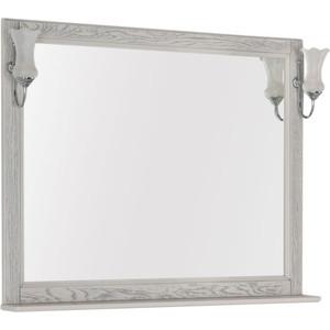 Зеркало Aquanet Тесса 105 жасмин, серебро, массив дуба (185819)
