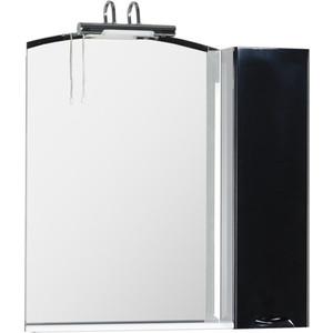 Зеркало-шкаф Aquanet Асти 85 L черный (178244)