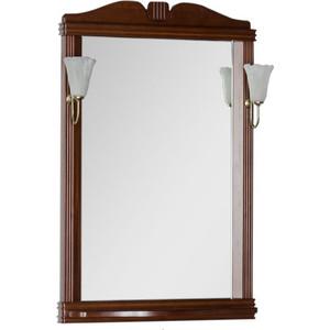 Фото - Зеркало Aquanet Николь 70 орех, массив бука (180513) зеркало aquanet николь 180512