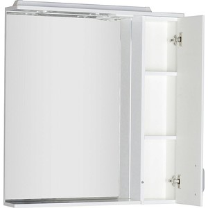 Зеркало-шкаф Aquanet Глория 90 белый (171603)