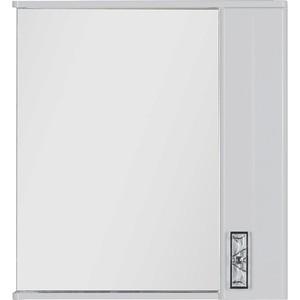 Зеркало-шкаф Aquanet Паллада 80 белый (175314) шкаф пенал aquanet паллада 50 слоновая кость 175318
