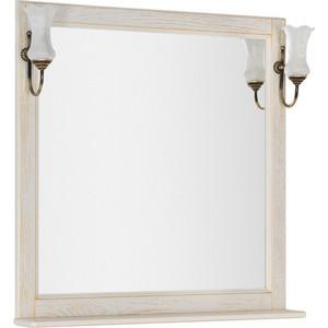 Зеркало Aquanet Тесса 85 жасмин, золото, массив дуба (185820)