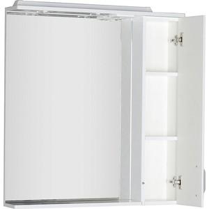 Зеркало-шкаф Aquanet Глория 80 белый (171594) набор комбинированных укороченных ключей 8 17мм 9шт jtc ad09s