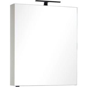 Зеркало-шкаф Aquanet Алвита 70 сливочный (183976) шкаф пенал aquanet алвита 40 серый антрацит 183993